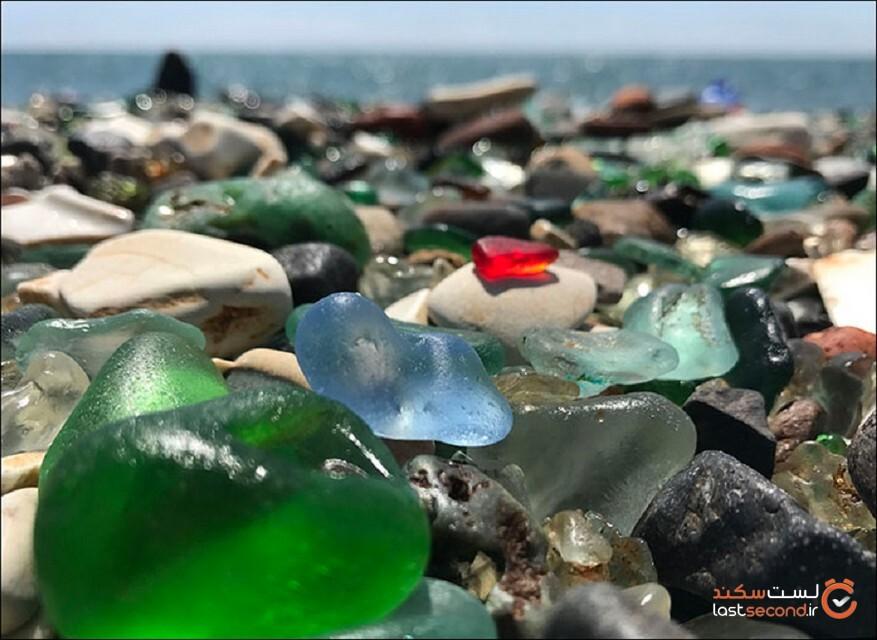 ساحل آلوده «زیبایی» که طوفان تقریباً آن را تخریب کرد!