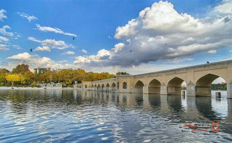 پل چوبی، تنها پل اختصاصی شاه عباس