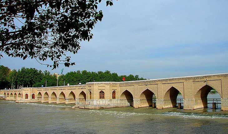 پل چوبی، تنها پل اختصاصی شاه عباس بر روی زاینده رود!