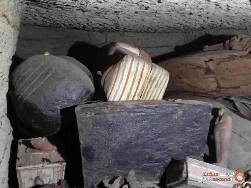 مقبره مصر باستان پس از 2500 سال برای اولین بار بازگشایی شد!