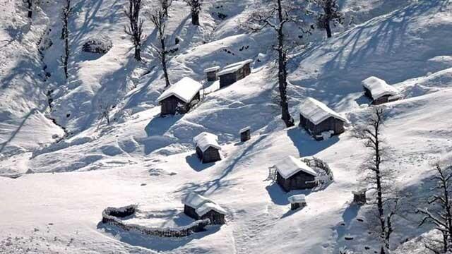 یک زمستانه ی دلچسب (سفرنامه ماسال)
