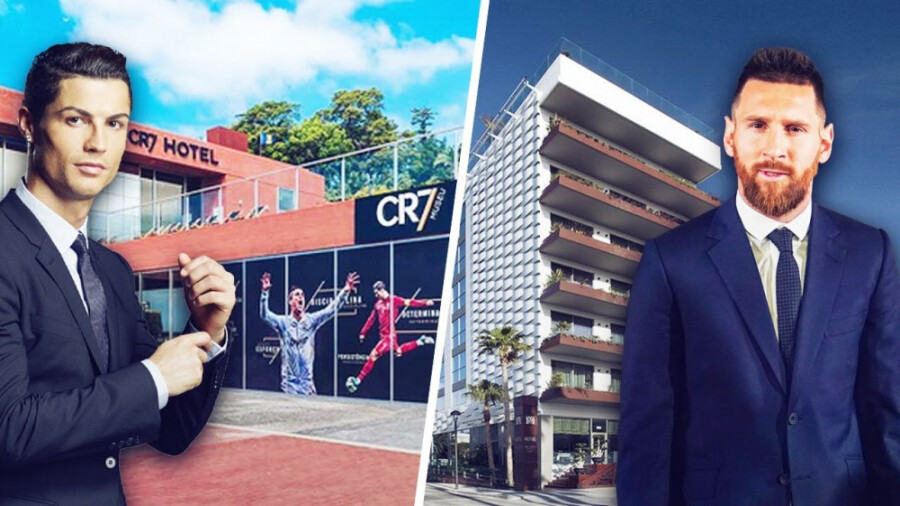 رقابت عجیب و جدید مسی و رونالدو در صنعت هتلداری آغاز شد!