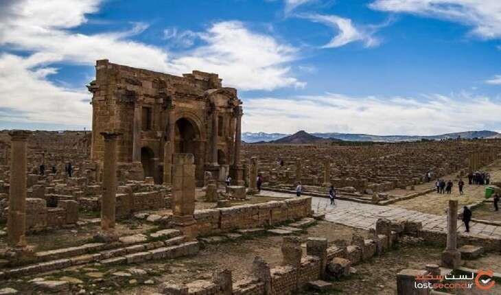 شهر مرده روم باستان، سکونتگاهی نظامی که 1000 سال در شن مدفون بود!