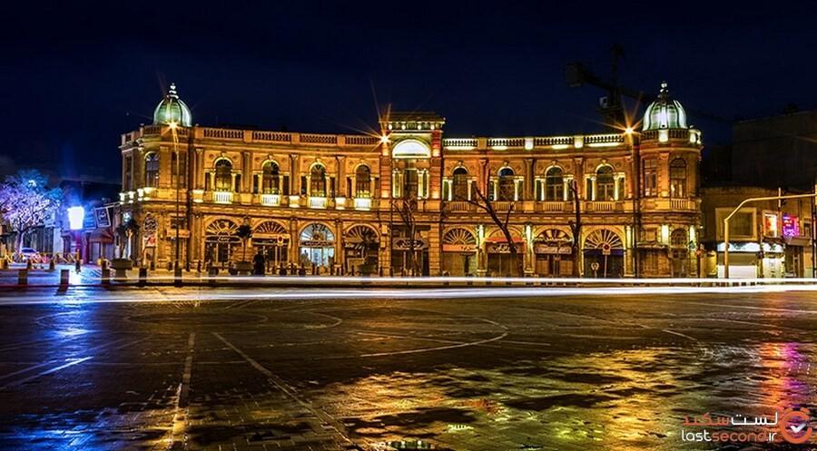 میدان اروپایی که در قلب پایتخت خوش درخشید