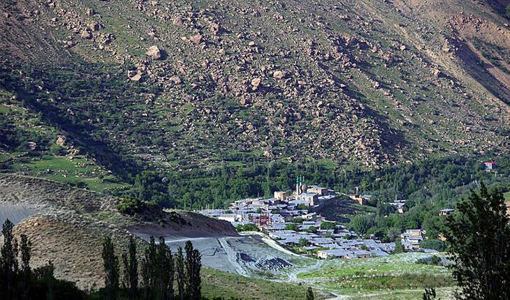 روستای خفر، عروس کوههای دنا