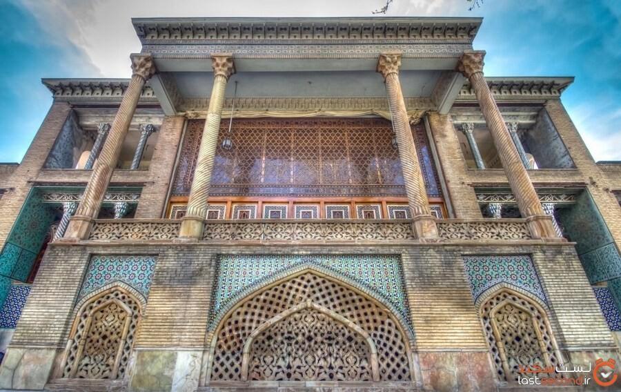 عمارت بادگیر، نگینی مخفی در کاخ گلستان تهران