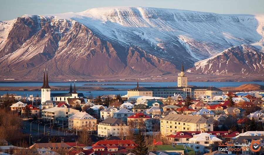 ایسلند از کرونا برای بهبود مکان های مهم خود استفاده میکند!