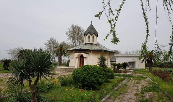 کلیسای کوچک مریم مقدس در روستای قرق