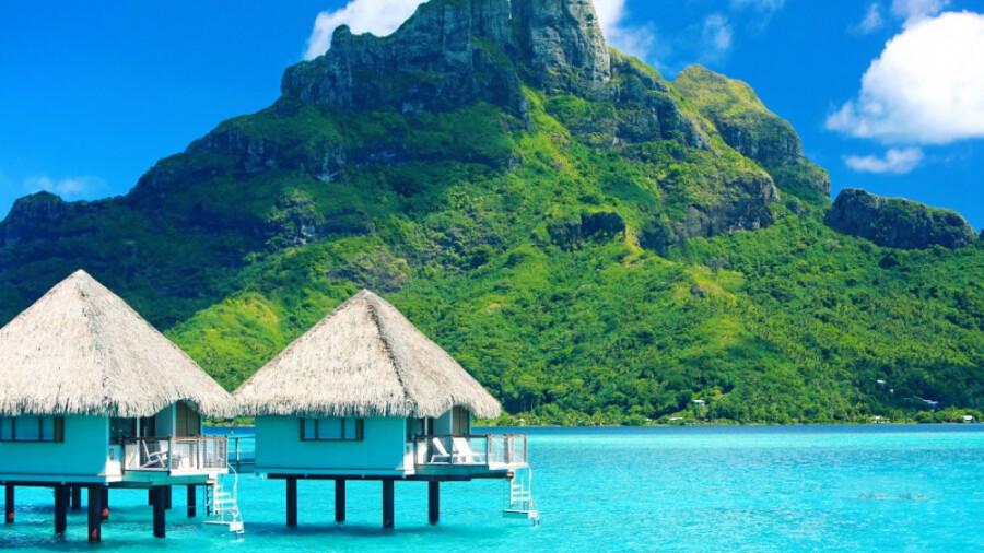 بورا بورا، شفاف ترین دریا و زیباترین ساحل در جهان!
