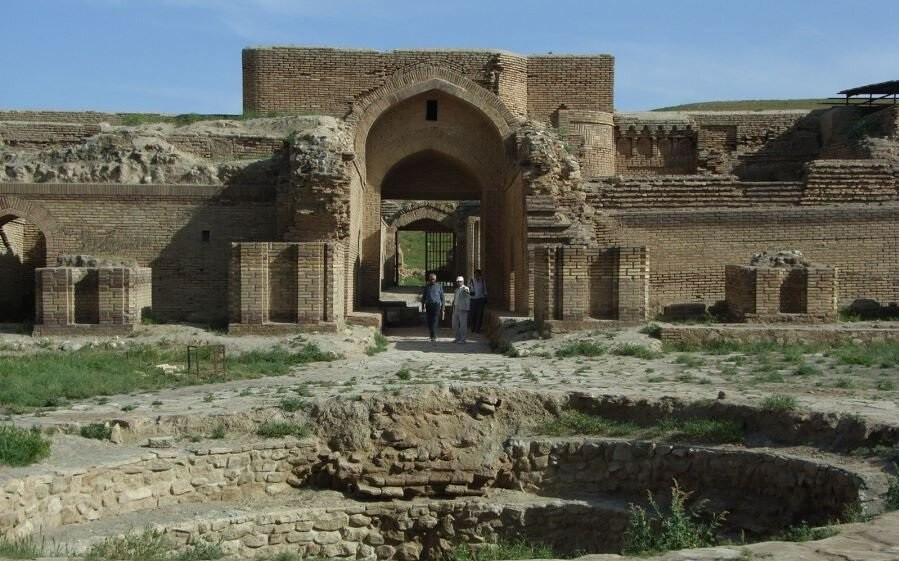 رباط شرف، موزه ی آجر ایران در خراسان رضوی
