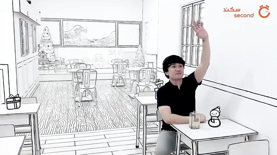 کافه های دوبعدی، نوشیدن قهوه در فضایی عجیب!