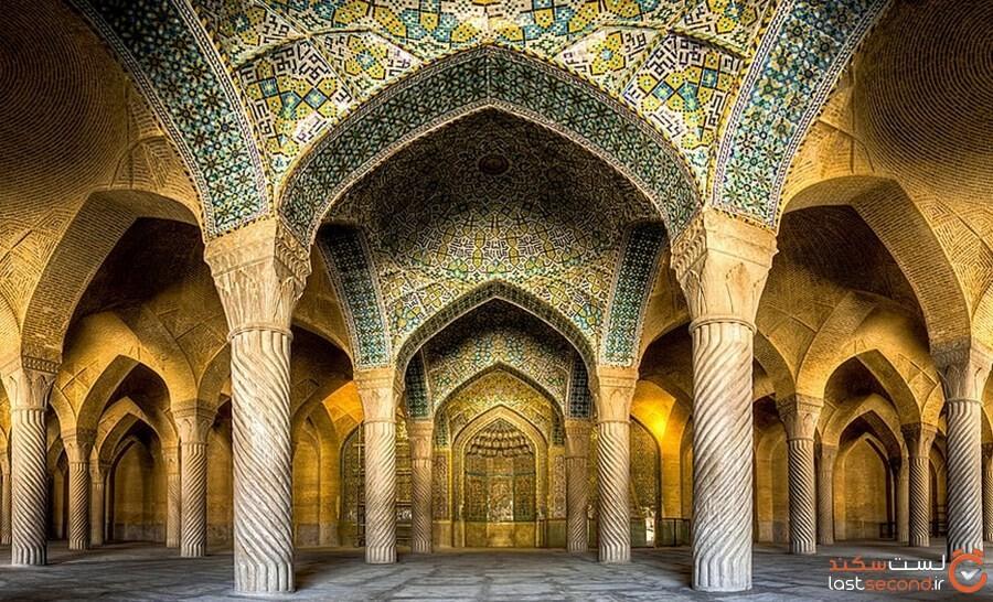 وکیل، مسجدی با طراحی زیبا در شیراز