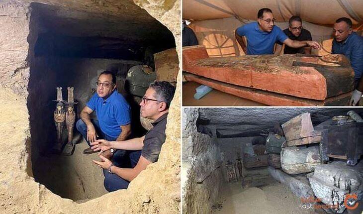 کشف بیش از 100 تابوت باستانی در مصر