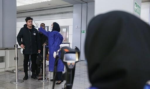 صف تست کرونا در فرودگاه امام و علت آن !