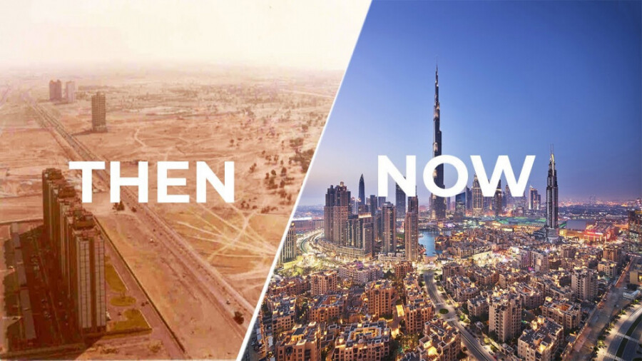 دبی، از بیابان تا مدرن ترین شهر خاورمیانه!