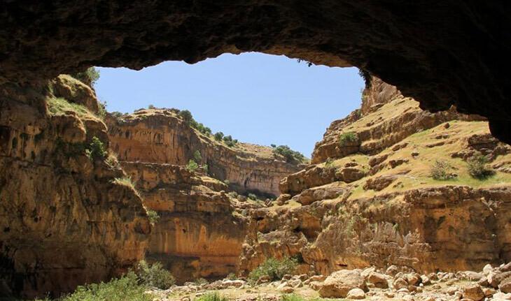 تنگه زرانگوش، تنگه ای تاریخی و زیبا در استان ایلام