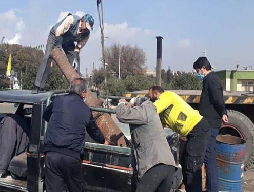 کشف توپ جنگی صفوی در ضایعات کارخانه ذوب آهن اصفهان!