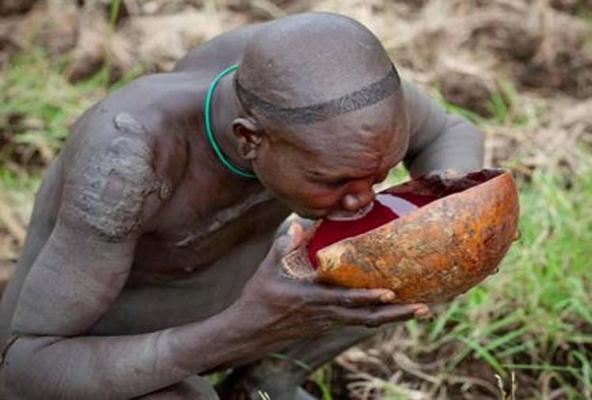 معرفی 10 غذایی که با خون انسان یا حیوانات تهیه می شود