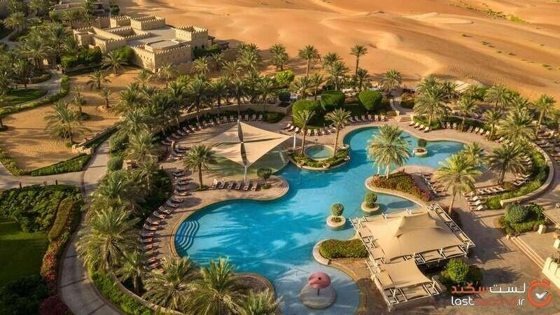 استراحتگاه و هتل کویری آنانتارا قصر السراب، بهشتی در دل کویر