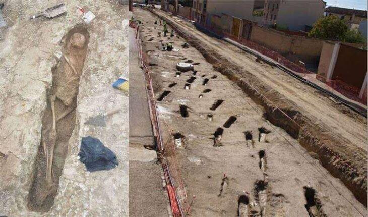 کشف گورستان اسلامی در اسپانیا به دست کارگران اسپانیایی