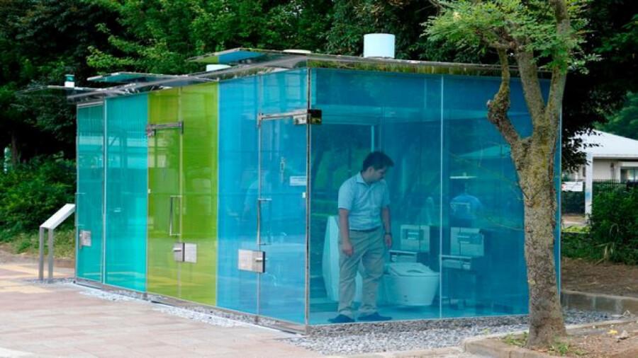 سرویس های بهداشتی شفاف در توکیو!