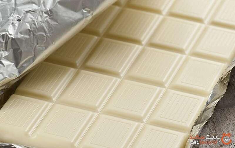 شکلات سفید