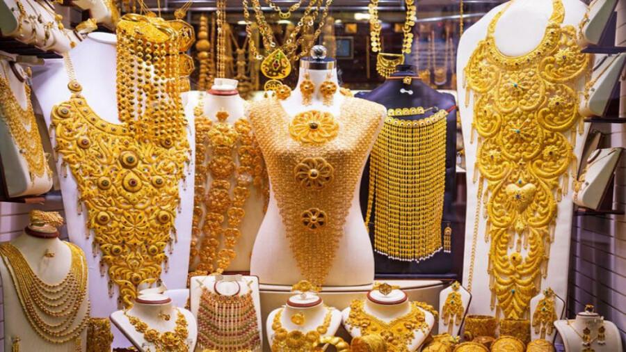 گرانترین و سنگین ترین طلاهای جهان در بازار طلای دبی!