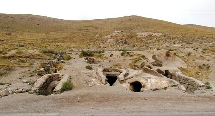 حیله ور، روستای مرموز و دست کند اسکو