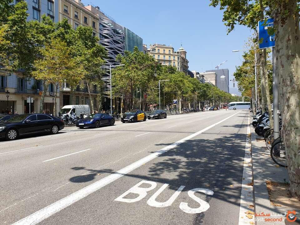 خیابان Passeig de Gracia