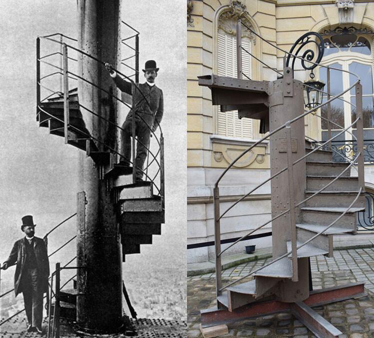 پلکان برج ایفل فرانسه به حراج گذاشته شد