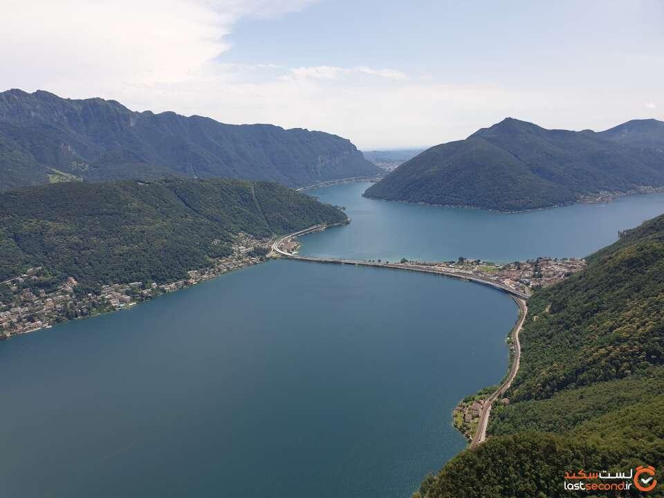 دریاچه لوگانو