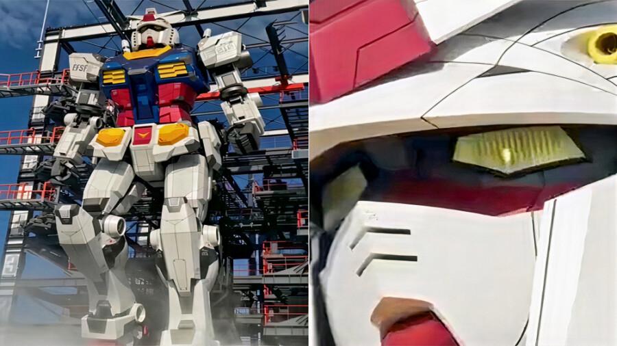 ربات غولپیکر گاندام، جاذبهای متفاوت در ژاپن!