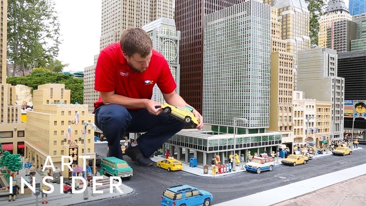 شهرهای کوچکی که با میلیونها لگو ساخته شدهاند!