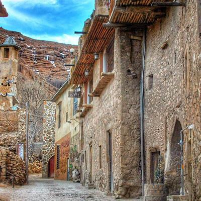 همنشینی طبیعت و تاریخ در روستای قلات