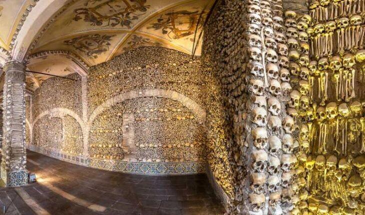 بناهایی که از اسکلت و جمجمه انسان ها ساخته شده است
