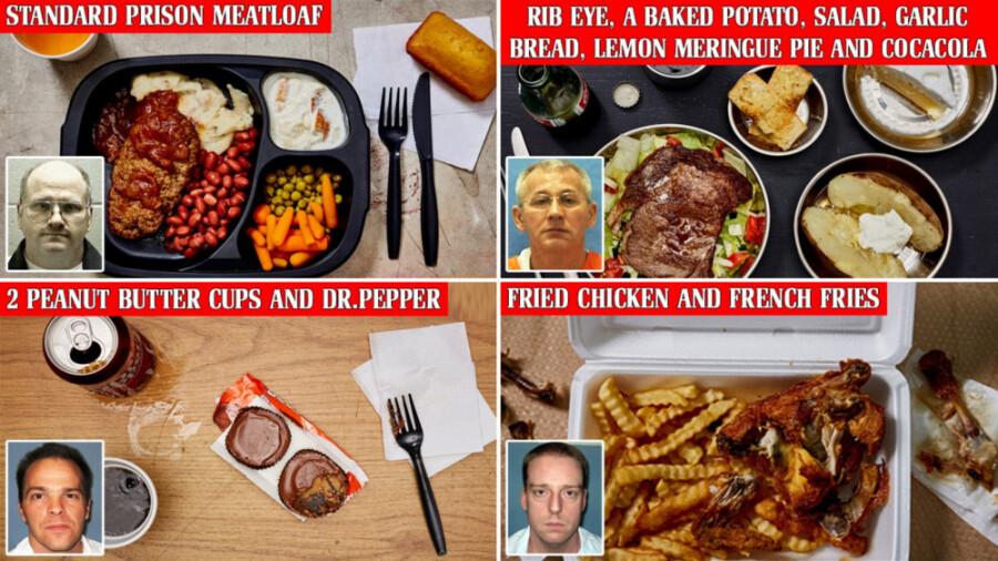 اعدامیان برای آخرین وعده غذایی خود چه چیزهایی درخواست کردند؟