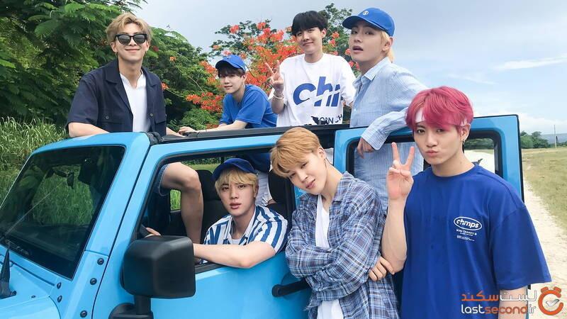 BTS موسیقی کره ای