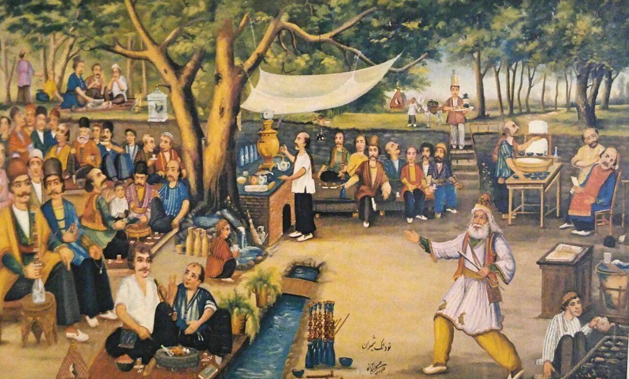 قهوهنوشی و قهوهخانهنشینی در ایران