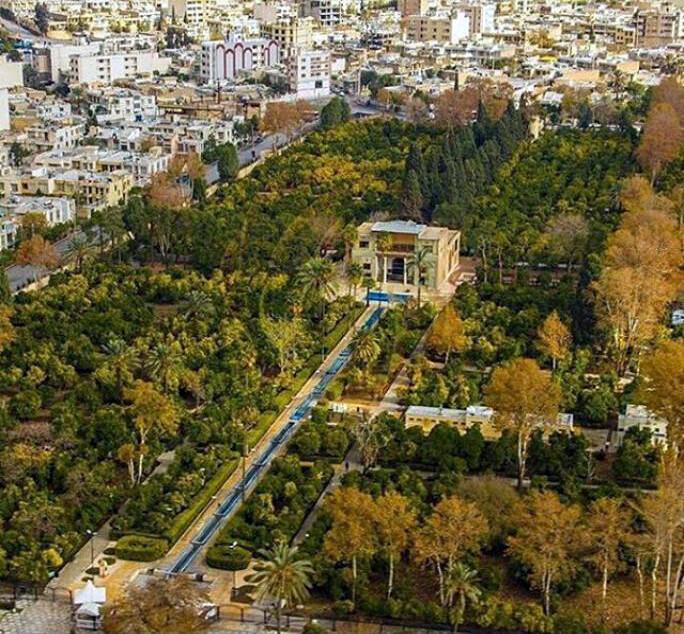 بیش از هزار سال آبادانی و تاریخ معماری در باغ دلگشا شیراز