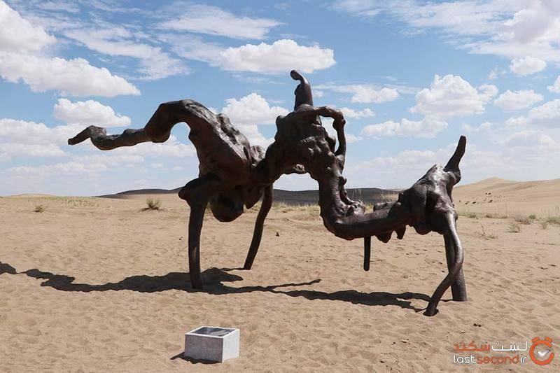 موزه صحرایی چین