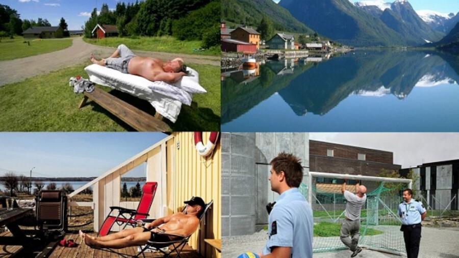 آزادترین زندان دنیا در نروژ!