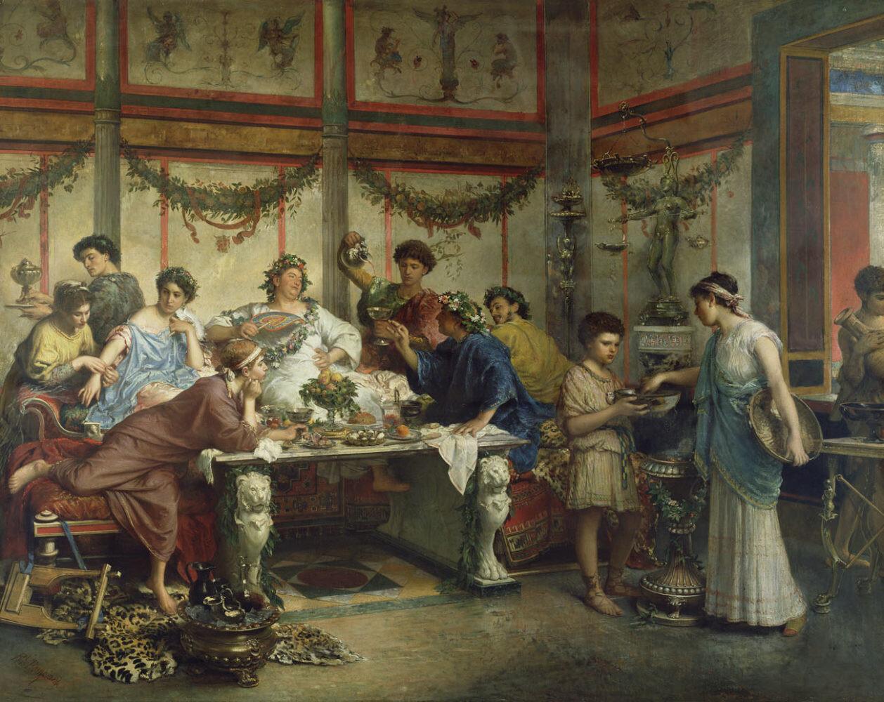 رژیم غذایی رومیان باستان