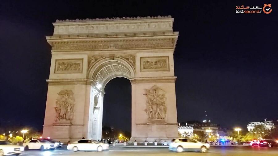 خاطرات سفر پاریس