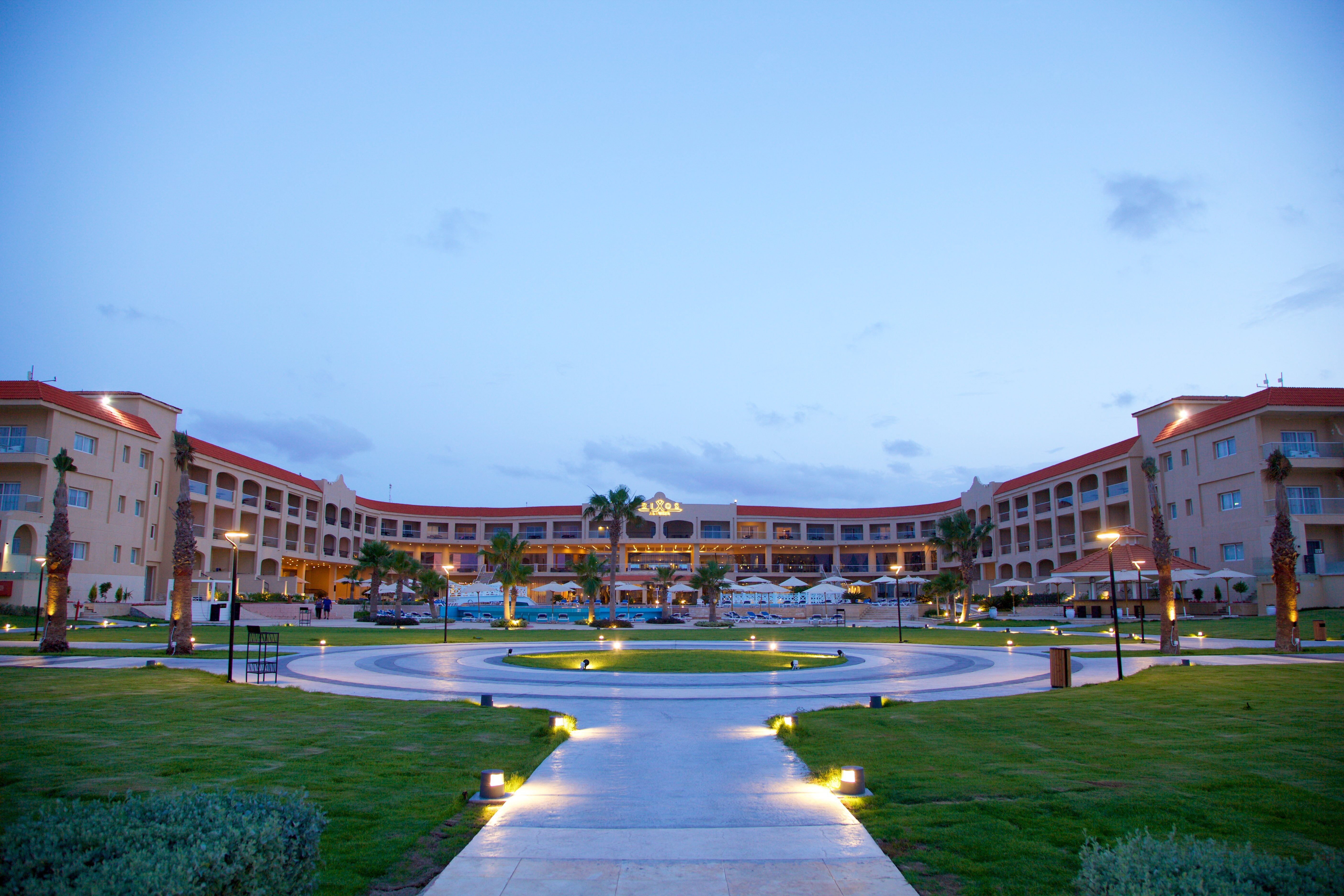 هتل رکسوس آلامین