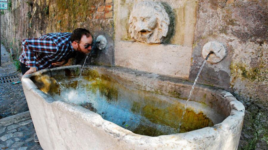 رم، شهری که در آن آب رایگان است!