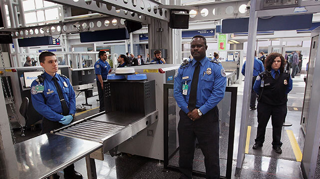 گیت امنیتی فرودگاه گوانجو
