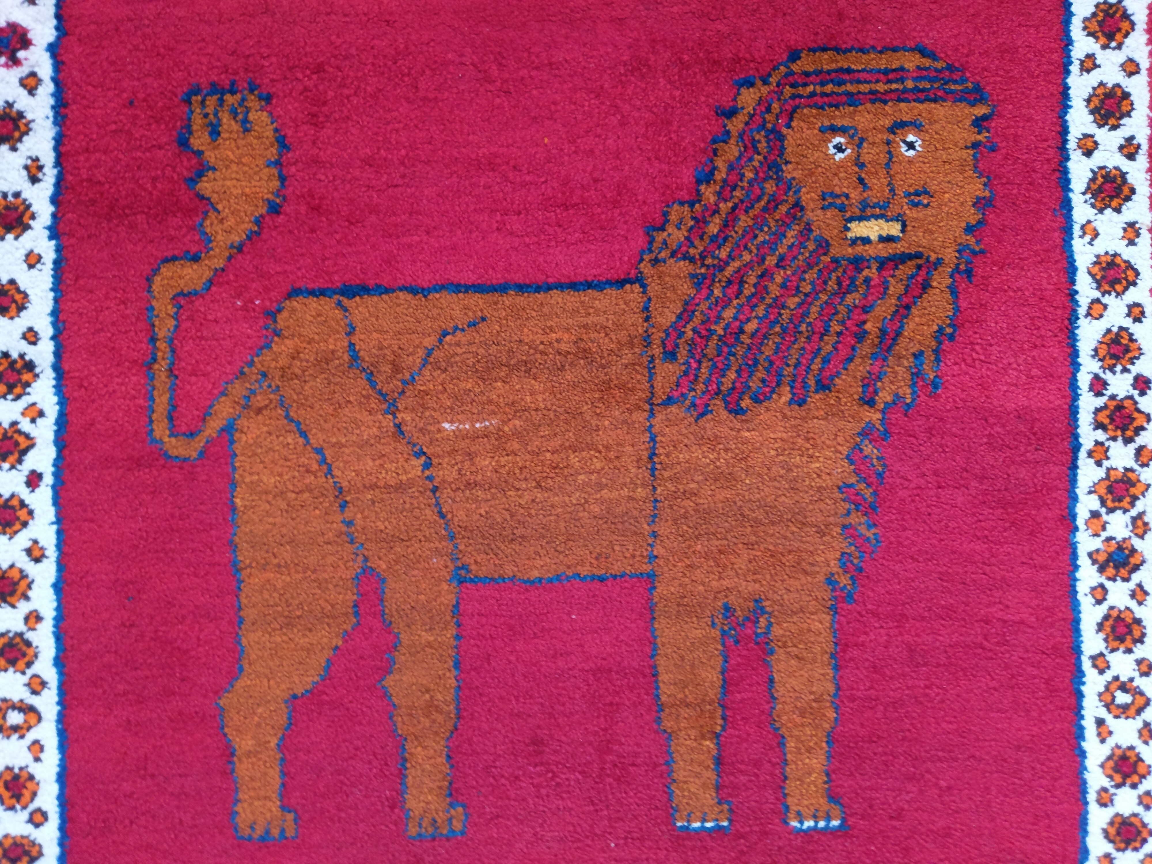 داستان نقش شیر قالی و خواستگاری از دختران قشقایی