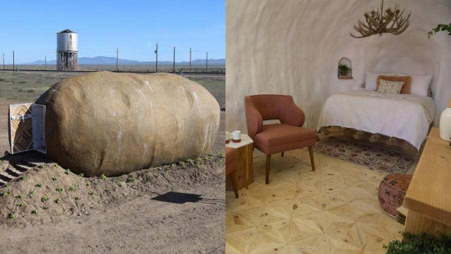 هتل آیداهو، یک سیب زمینی بزرگ که هتل می شود!