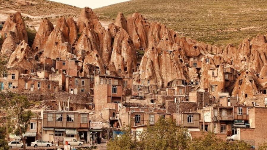 کندوان، وقتی حاصل فوران کوه سهند یک روستای عجیب میسازد!