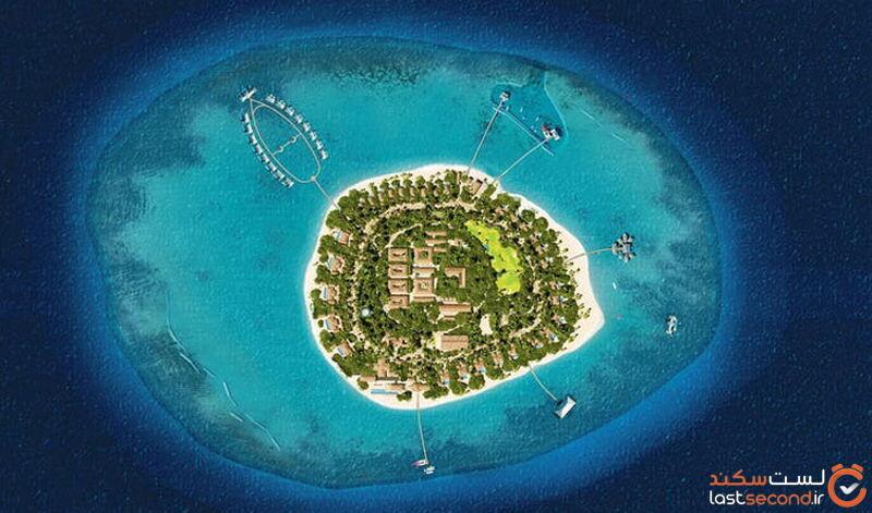 بوتیک هتل جزیره شخصی ولا